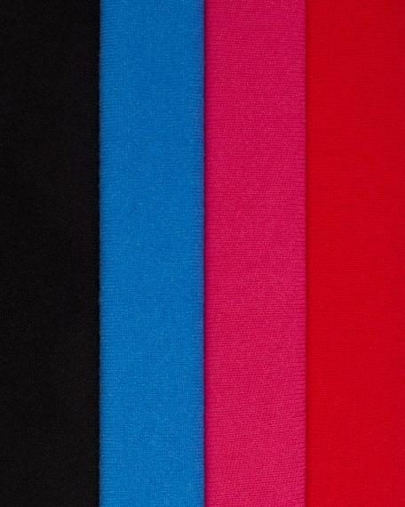Neiman Marcus Cashmere Collection Cashmere Fringe Hem Shawl w/ Chain Trim