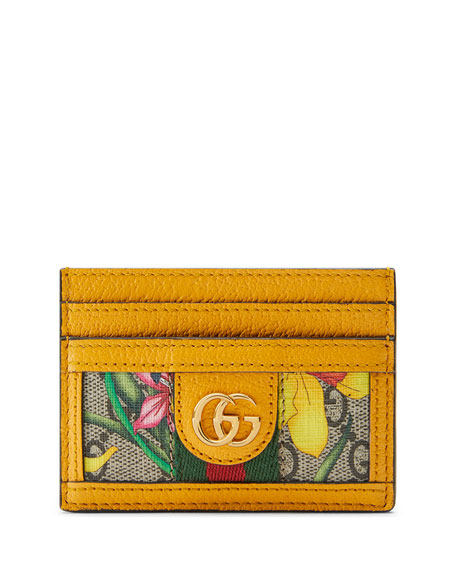 Gucci Ophidia GG Flora Card Case
