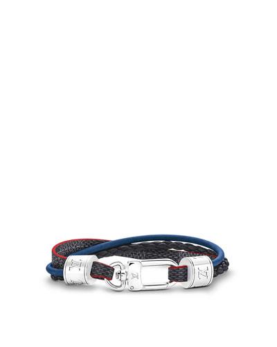 Clickable - LV TREBLE BRACELET $440.00