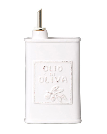 Lastra White Olive Oil Can