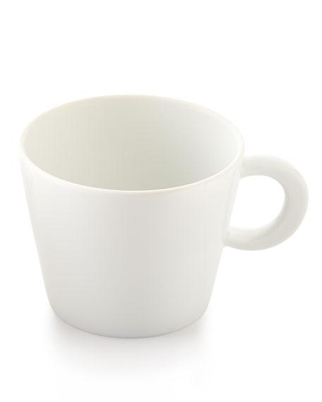 Ecume White Teacup