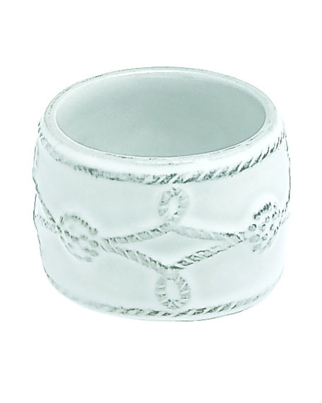 Berry & Thread White Napkin Ring