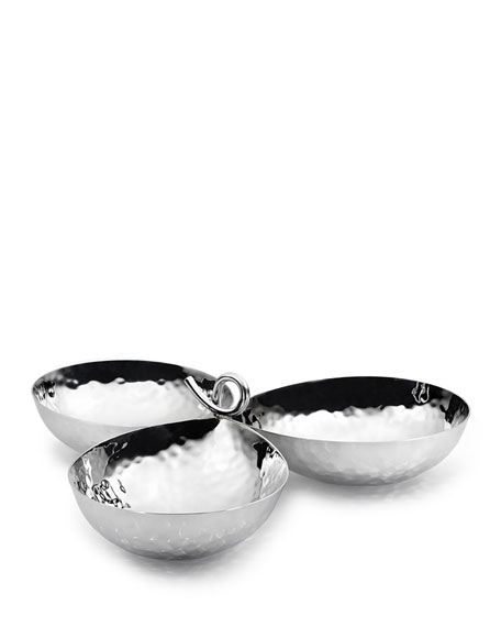 Mary Jurek Galaxy 3-Bowl Server Set