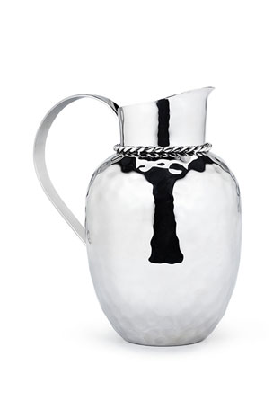 "Mary Jurek Paloma 9.5"" Pitcher with Braided Wire"