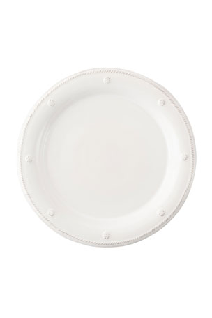 Juliska Berry & Thread Whitewash Dessert/Salad Plate