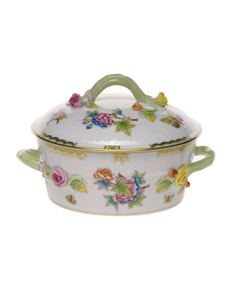 Queen Victoria Vegetable Dish, Covered