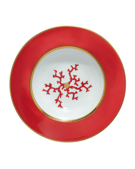 Coral Cristobal Soup Plate