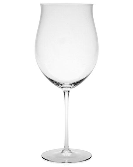 Olympia Burgundy Wine Glass
