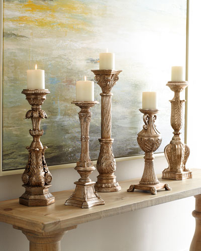 Couture Lamps Five Candlesticks