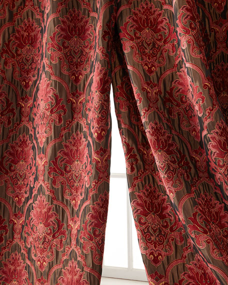 "Isabella Collection by Kathy Fielder Each Maria Christina Curtain, 108""L"