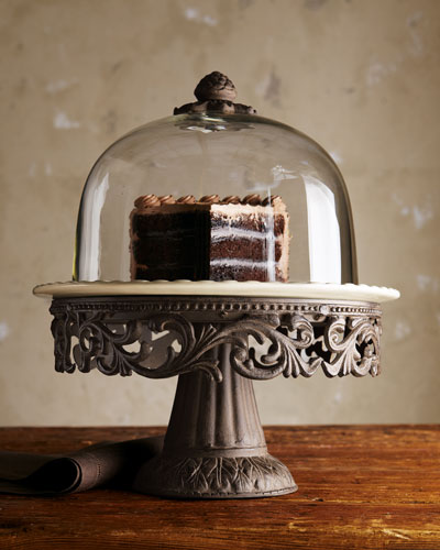 Cake Dome & Pedestal