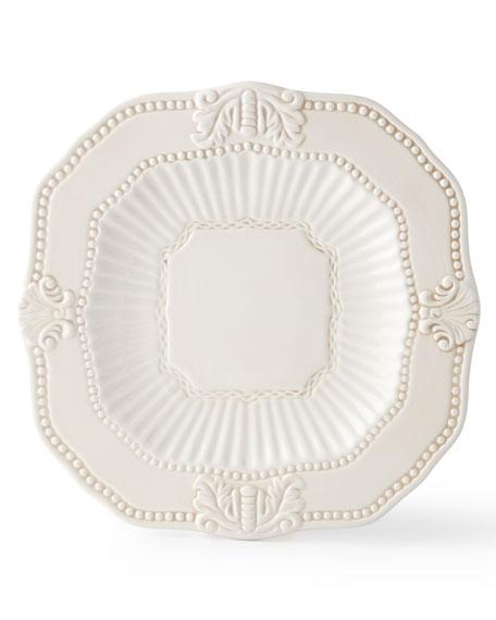 20-Piece Ivory Baroque Dinnerware Service