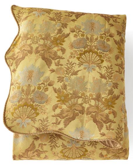 Dian Austin Couture Home King Petit Trianon Floral Duvet Cover