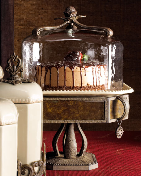 """Versailles"" Cake Dome & Pedestal"