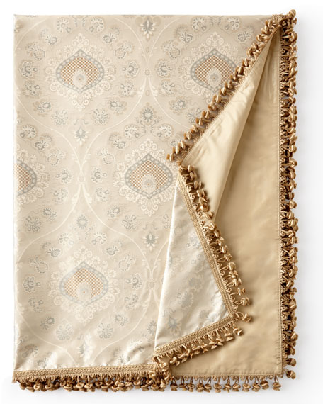 Sweet Dreams Crystal Palace Silk Throw