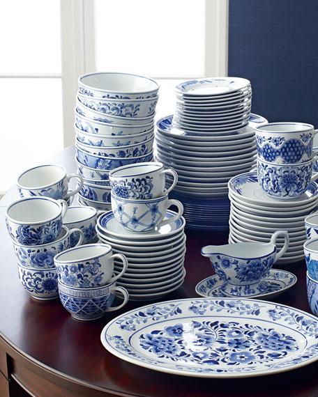 Neiman Marcus 12 14-oz. Traditional Cups & Saucers