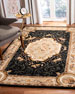 Aubusson Night Rug, 4' x 6'