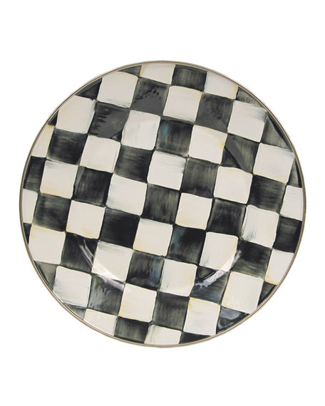 Courtly Check Dinner Plate