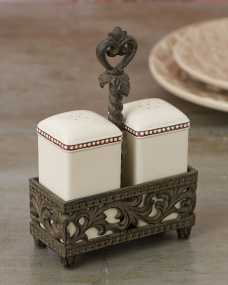 G G Collection Salt & Pepper Set