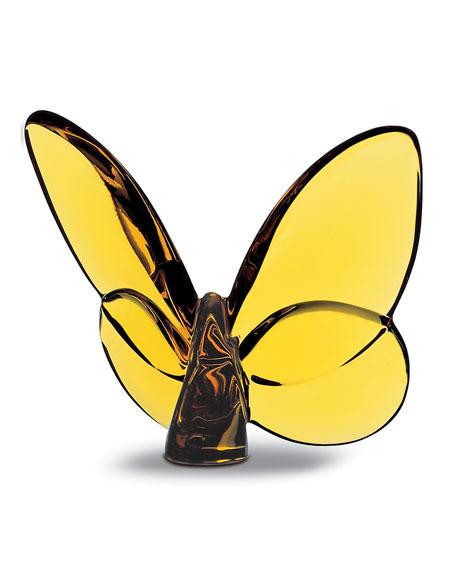 """Baccarat """"Lucky"""" Butterfly, Topaz"""