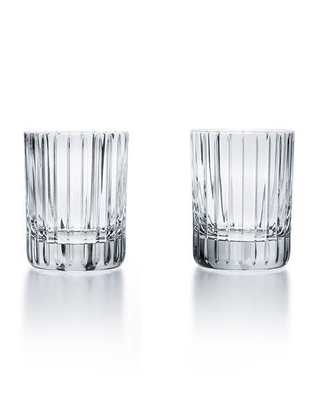 Baccarat Two Harmonie Tumblers, 12 Ounces