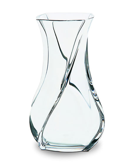 Baccarat Serpentin Vase, Large