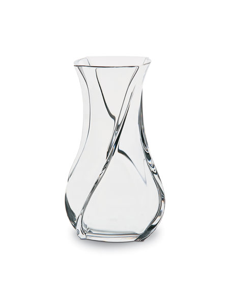Baccarat Serpentin Vase, Small