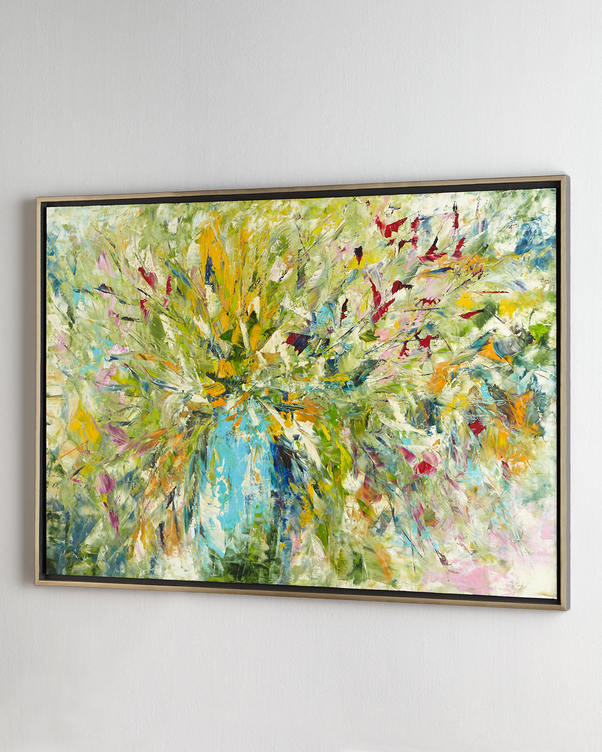 John-Richard Collection Jinlu Original Abstract Painting | Neiman Marcus