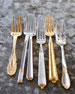65-Piece Gold-Plated Grand Duchess Flatware Service