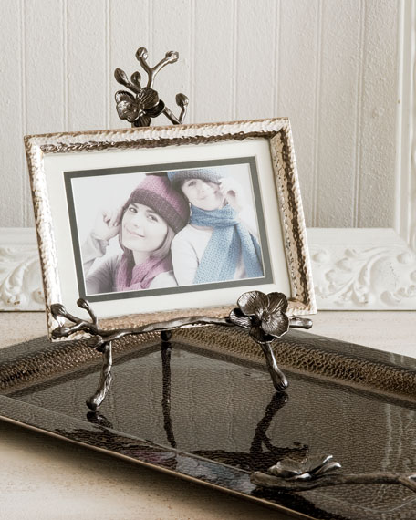 Michael Aram Black Orchid Easel Photo Frame
