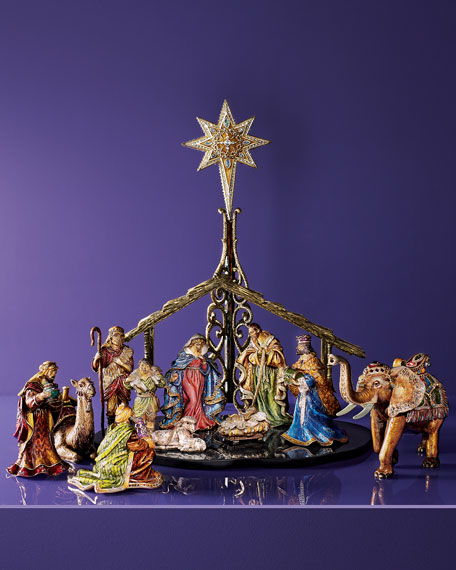 Three Figure Nativity Set