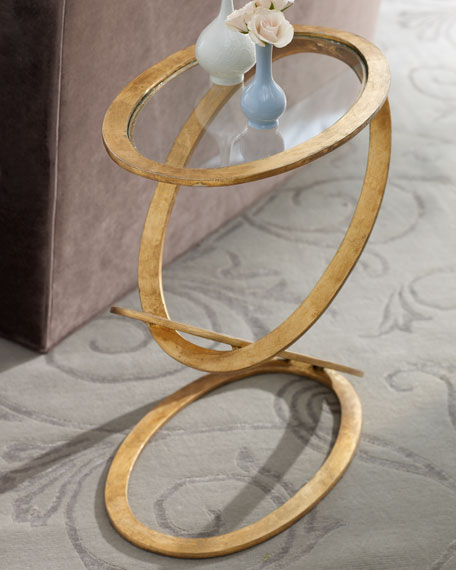 Interlude Home Gilded Ring Table