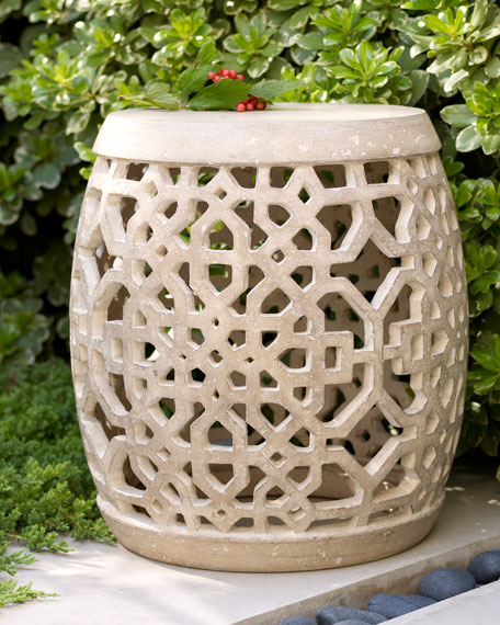 Neiman Marcus Tamsin Garden Stool