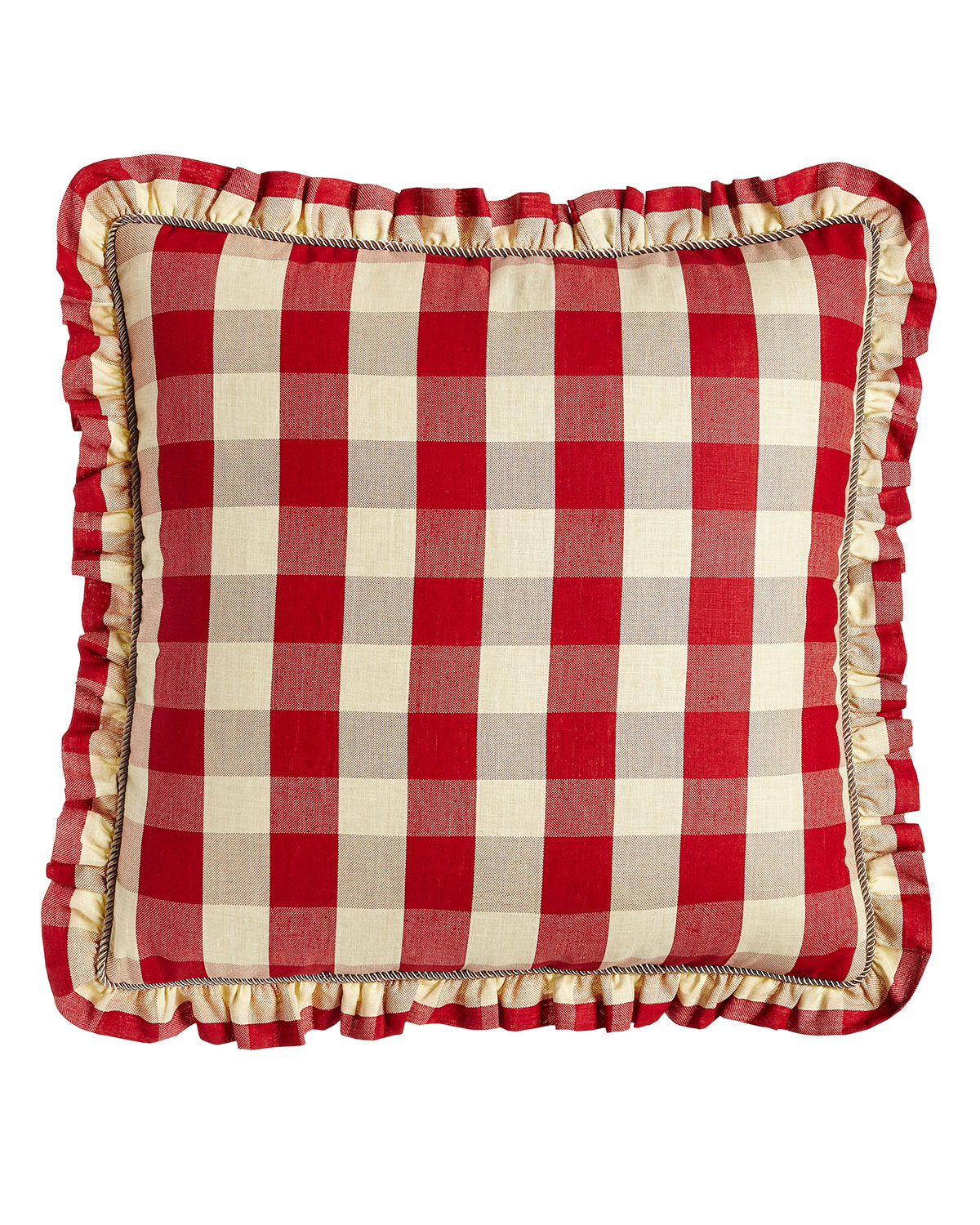 Sherry Kline Home French Country Bedding Houndstooth Quilt Set