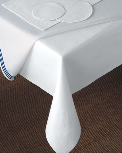 """106"""" Round Dining Table Pad"""