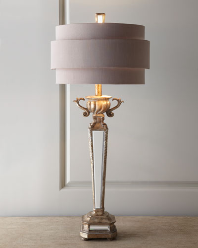 Couture Lamps Mirrored Table Lamp