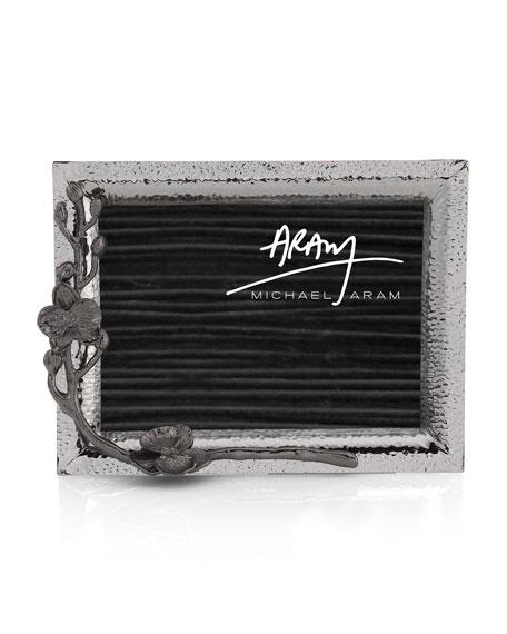 "Michael Aram Black Orchid Picture Frame, 5"" x 7"""