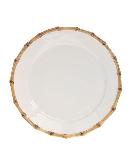 "Juliska ""Bamboo"" Charger Plate"