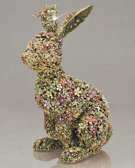 """Sacha"" Boxwood Bunny"
