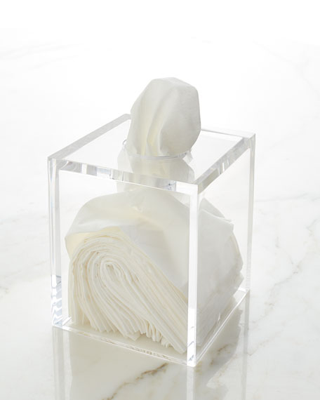 Mike & Ally Solid Ice Tissue Holder