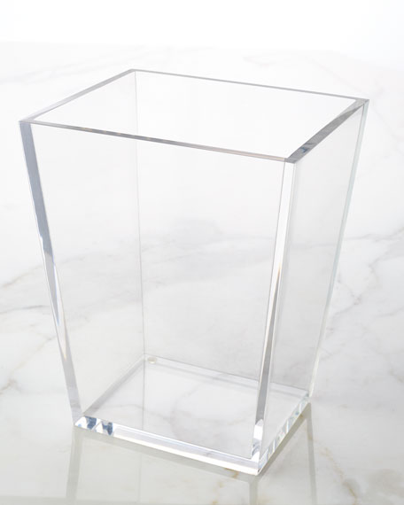 Mike & Ally Solid Ice Wastebasket