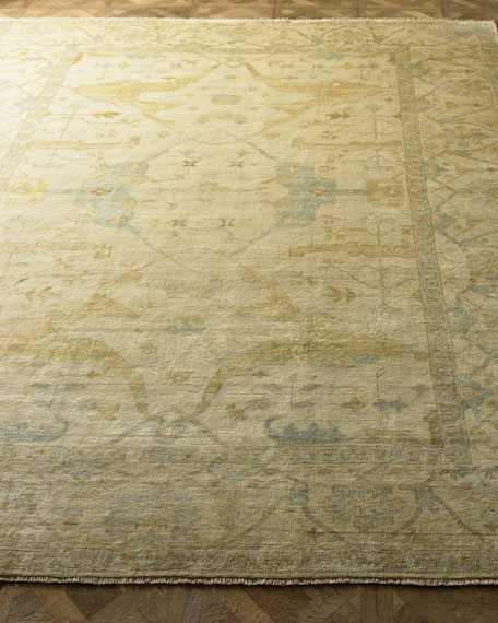 Exquisite Rugs Meadow Oushak Rug, 8' x 10'