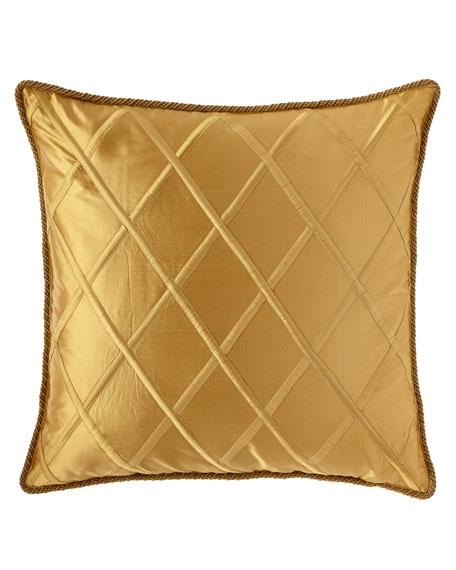 Dian Austin Couture Home European Diamond-Trellis Sham