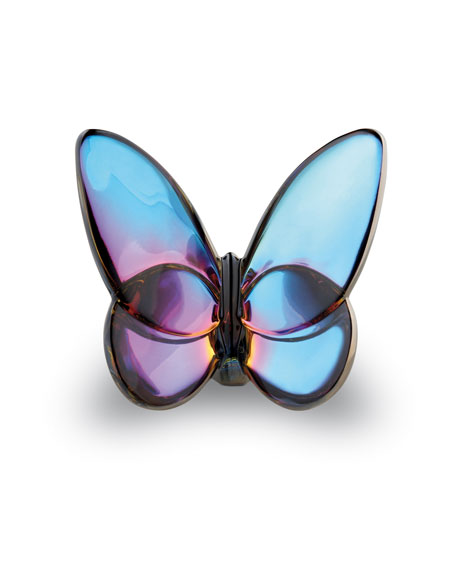 Lucky Butterfly, Blue Iridescent