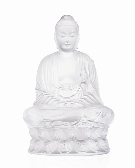 Lalique Clear Buddha Figure