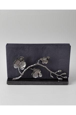 Michael Aram Black Orchid Vertical Napkin Holder