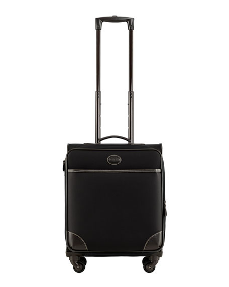 "Black Pronto 21"" Expandable Carry-On Spinner Luggage"