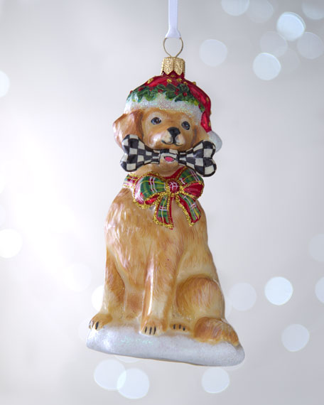 """Golden Retriever"" Christmas Ornament"