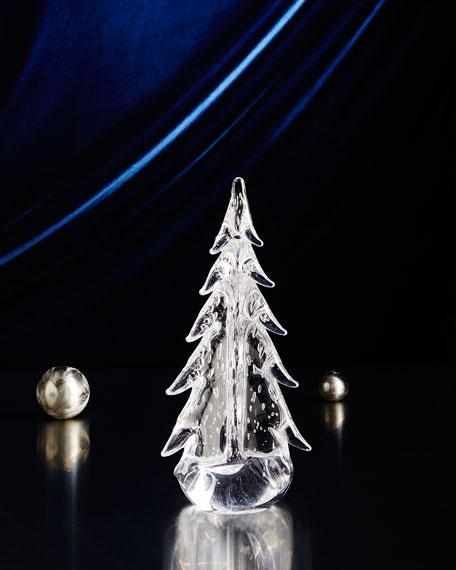 "Evergreen 12"" Bubble Glass Tree"