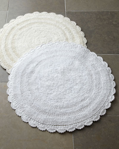 Bathroom Rugs Round: NMS15_H6DHS